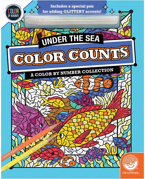 Color Counts: Under The Sea with Glitter