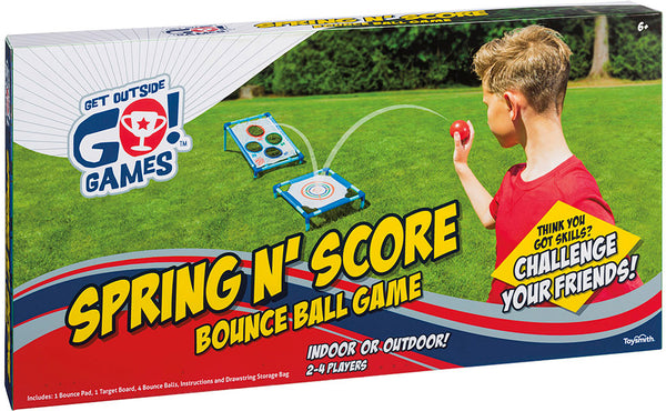 Spring 'N Score Bounce Ball Game