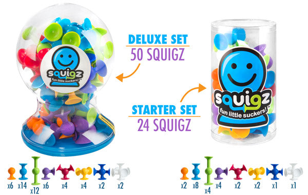 Squigz - Deluxe Sets