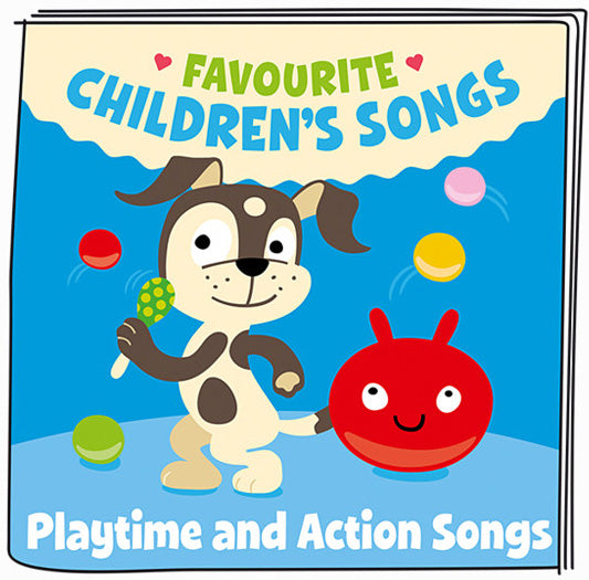 Audio Tonies - Playtime and Action Songs