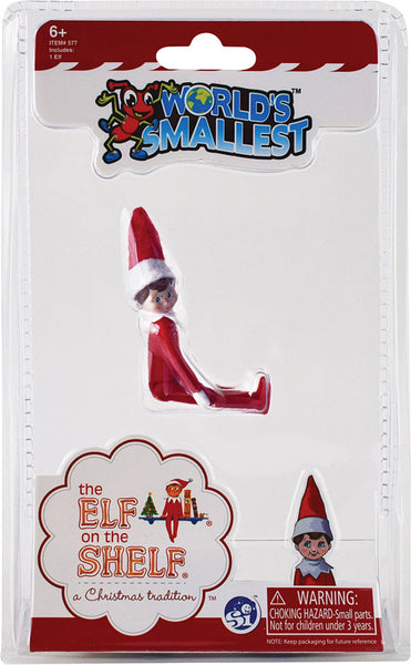 World's Smallest Elf on Shelf
