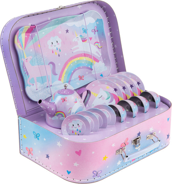 Cotton Candy Unicorn Tea Set 15pc