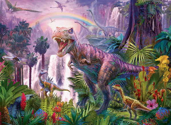 King of the Dinosaurs 200 Piece Puzzle