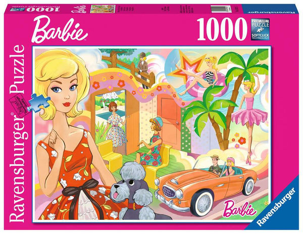 Vintage Barbie 1000 Piece Puzzle