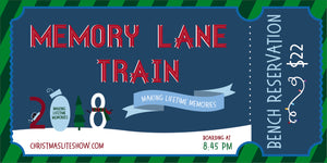 Memory Lane Train: 8:45 Departure