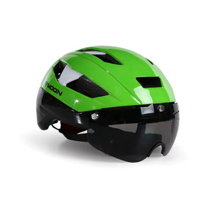 9cc09db86 Ultralight Road Mountain Cycle Helmet with Removable Shield Visor