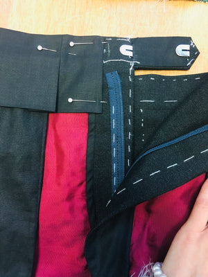 CONFECTION DU PANTALON HOMME