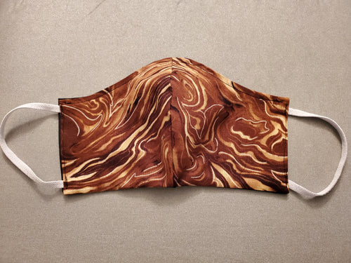 Face Mask - Cream In Coffee Swirl