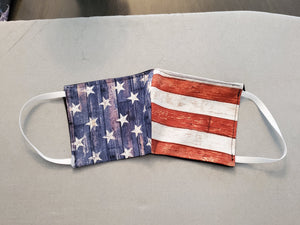 Face Masks - American Flag