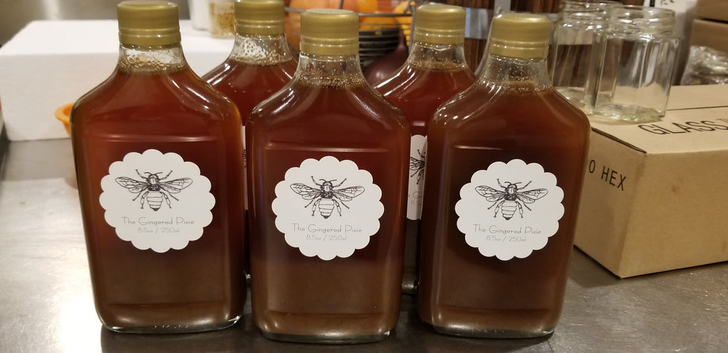 The Gingered Pixie Honey Simple Syrup