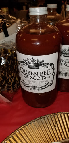 Queen Bee of Scots: Honey Bloody Mary Mix