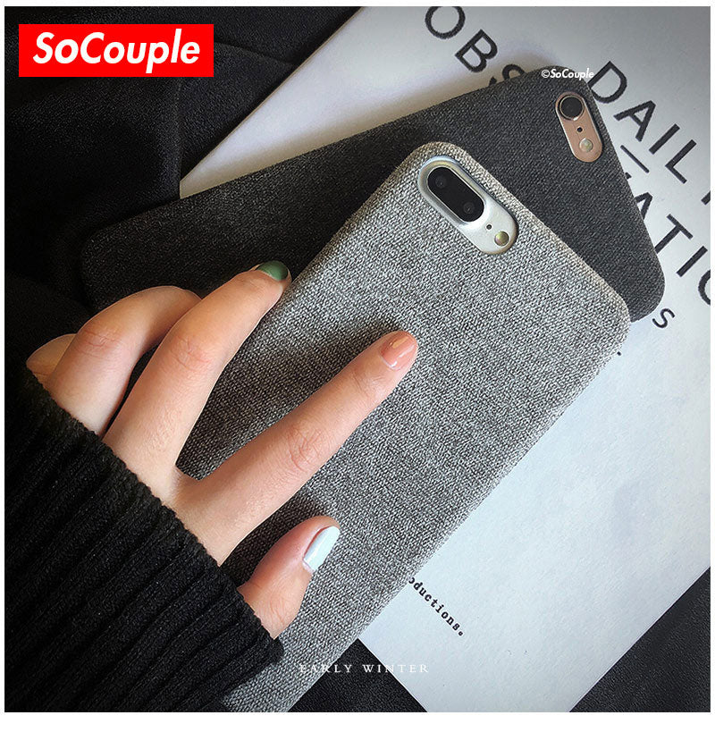 sale retailer f7075 8490f SoCouple Canvas Silicone iPhone Cases – PIVY