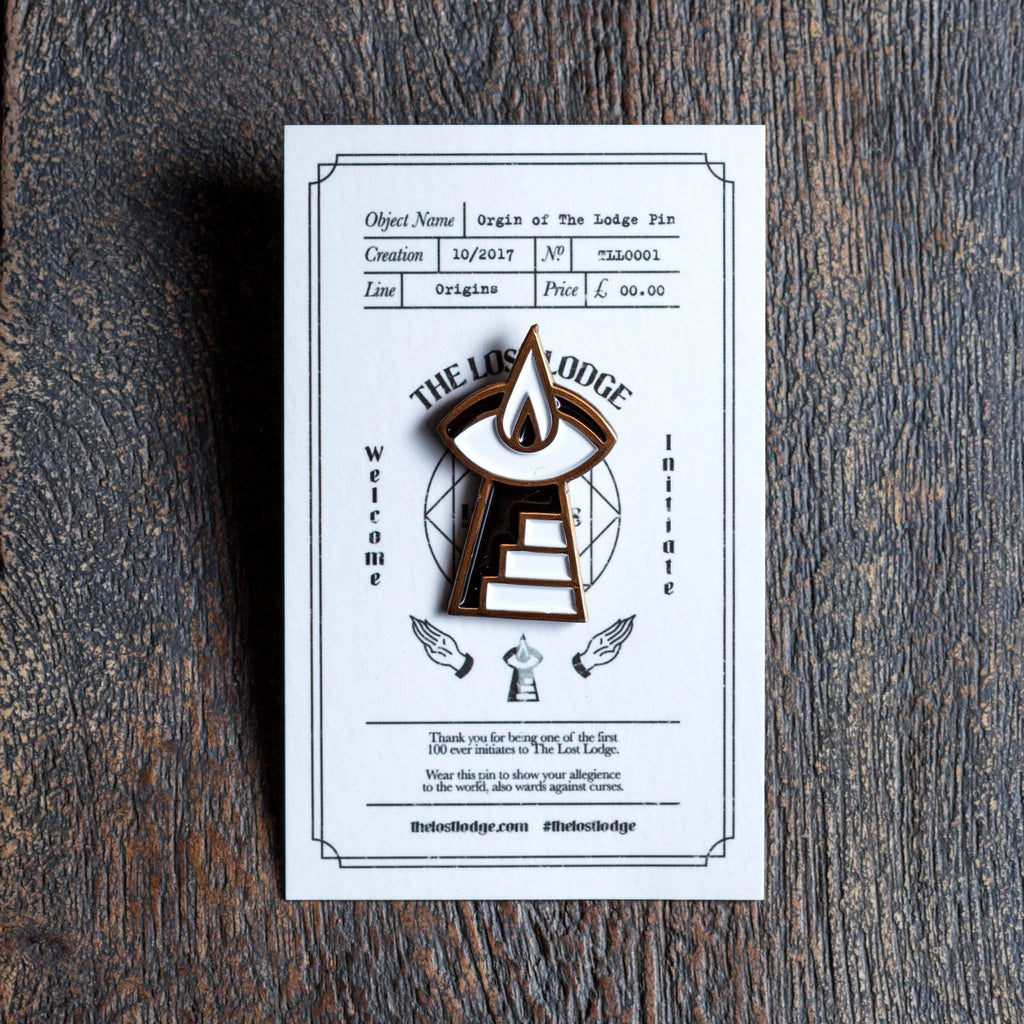 The Lost Lodge Pin Origins of The Lodge Pin
