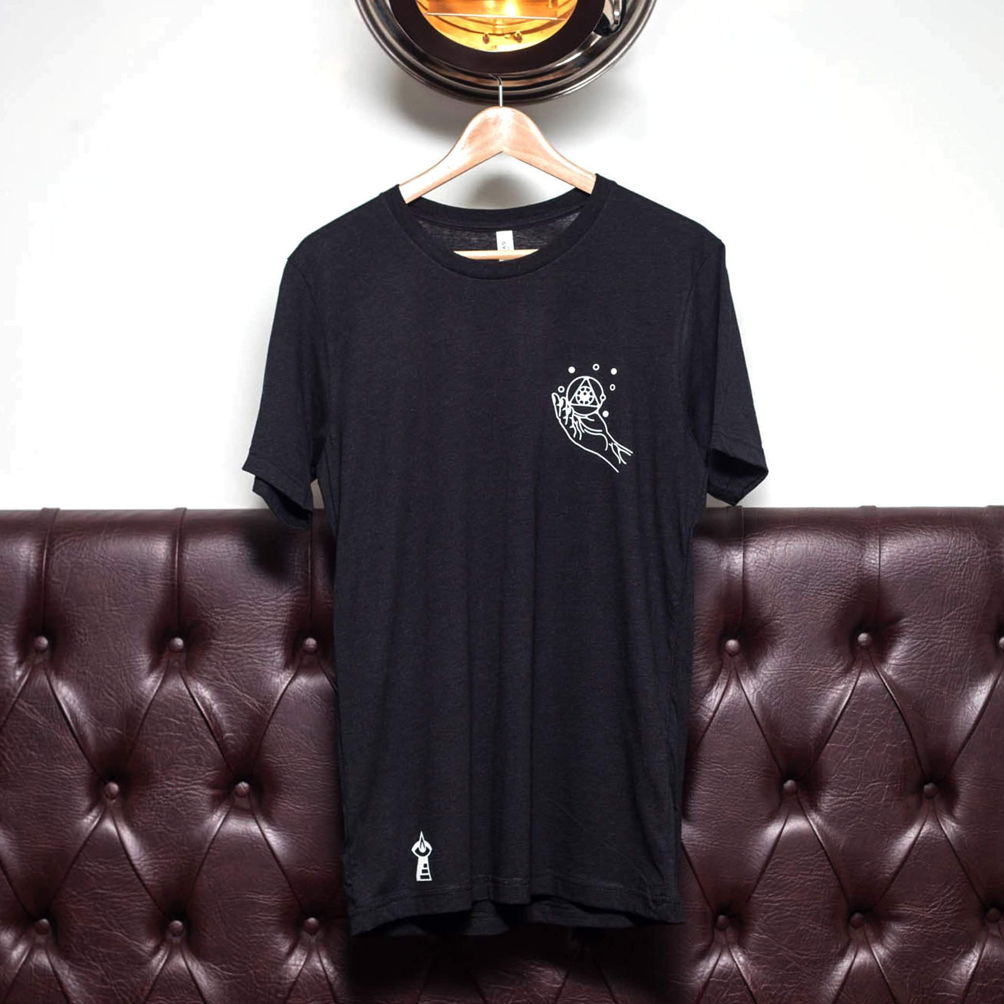 The Lost Lodge T Shirt Hand of the Alchemist ☛ Black Heather