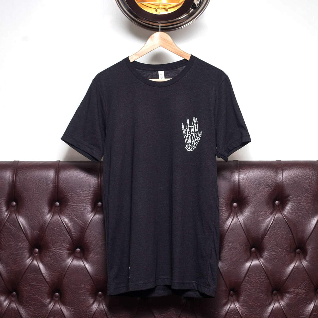 The Lost Lodge T Shirt Hand of the Skeleton King ☛ Black Heather
