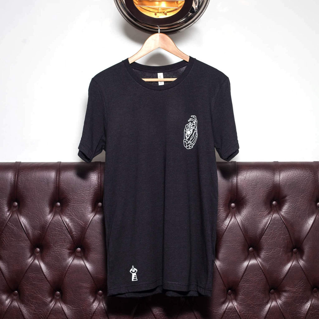 The Lost Lodge T Shirt Hand of the Skeleton's Eye ☛ Black Heather
