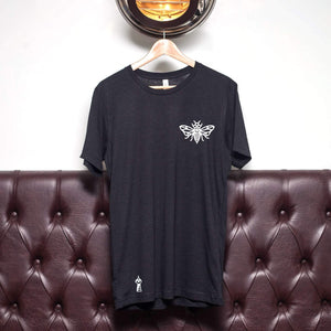The Lost Lodge T Shirt Worker Bee ☛ Black Heather
