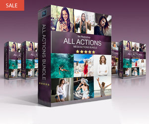 All Photoshop Actions - Mega Collection