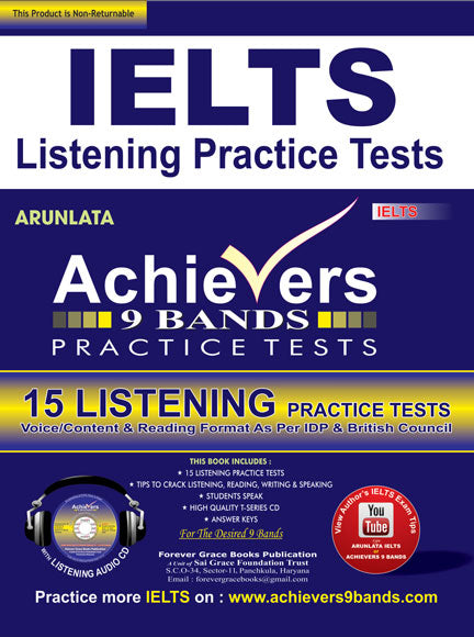 IELTS Listening Tips & Exercises Page