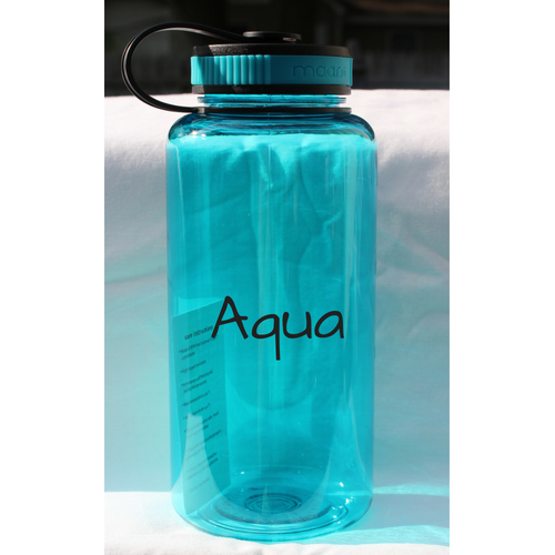 Drink Your Water - Motivational Water Bottle 32 Ounce - White Hydrangea Gifts