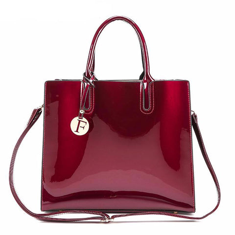 Luxury Glossy Tote