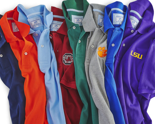 College Polo Shirts at Southern Tide