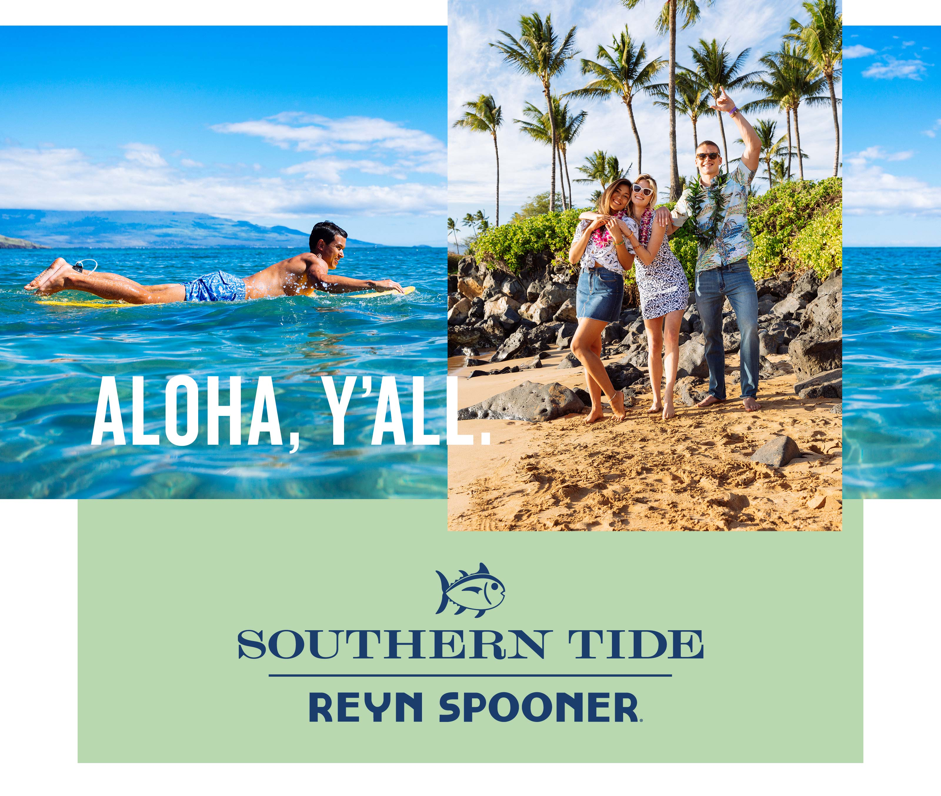 Reyn Spooner and Southern Tide Collaboration