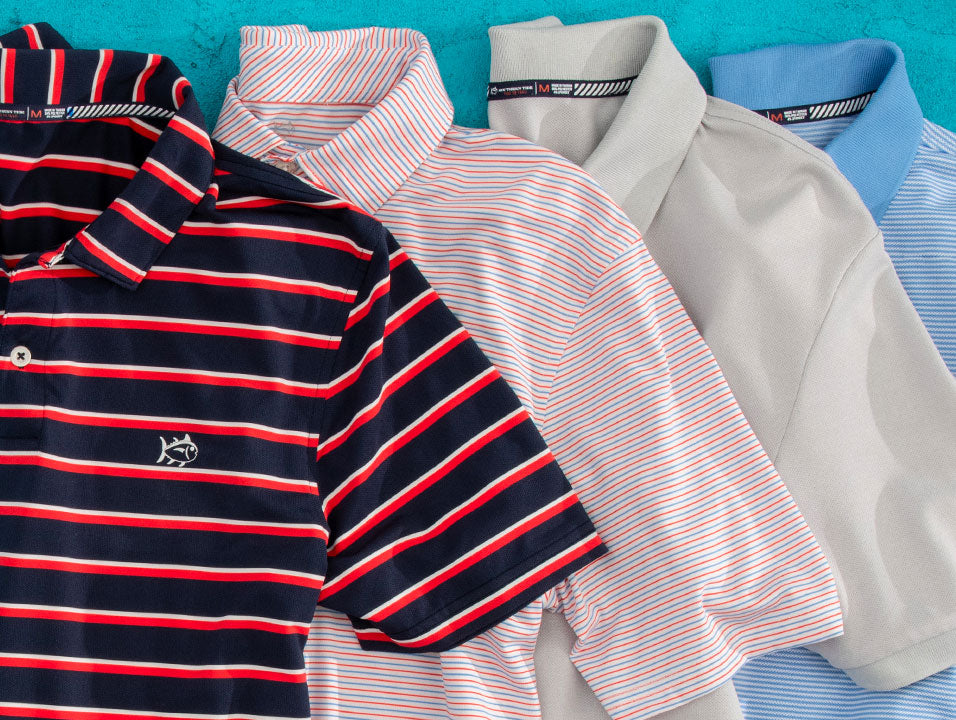 Southern Tide Men's Performance Polo Shirts