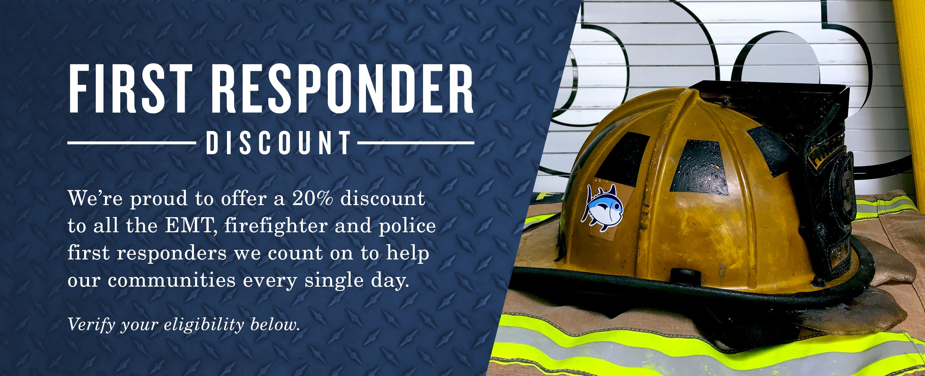 First Responders Discounts at southerntide.com