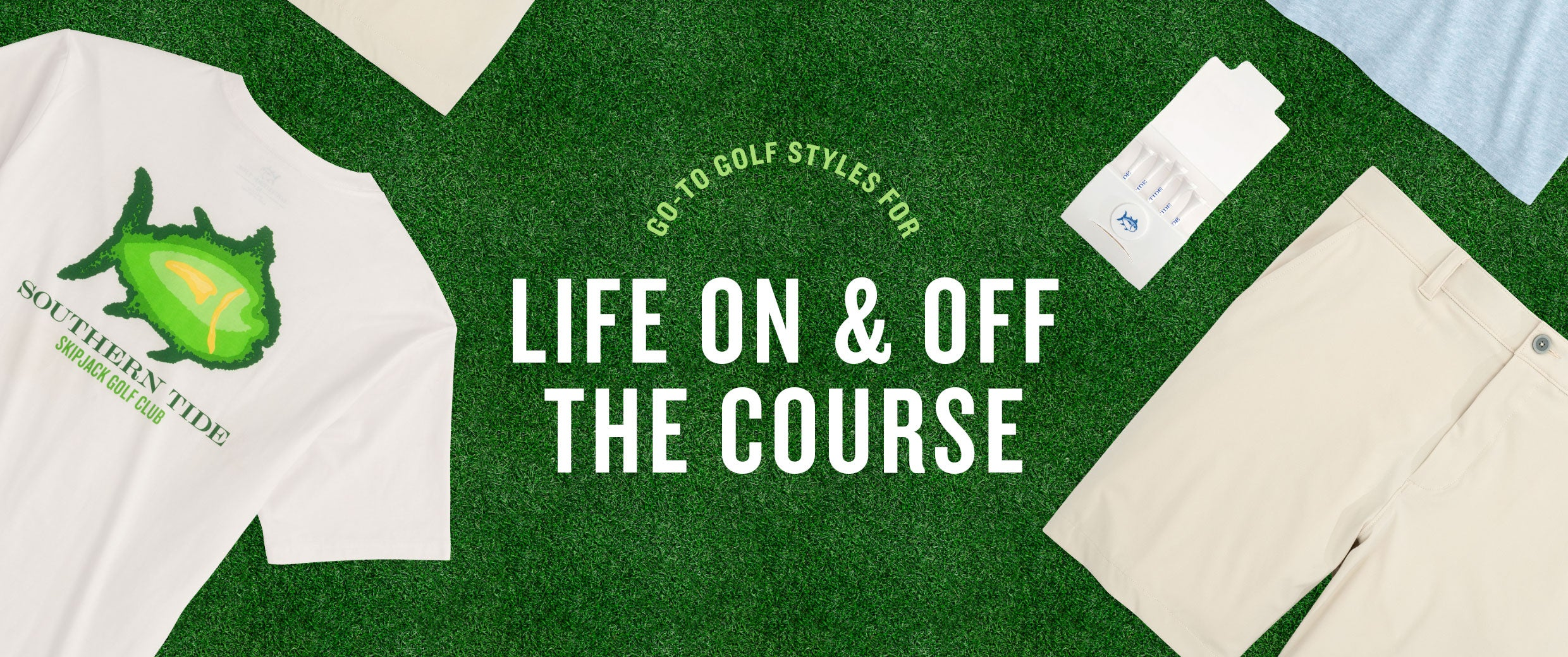Life on and Off the Course - Golf Shop