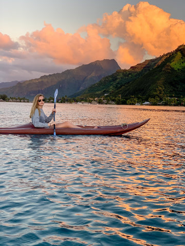 Southern Tide Sunset Kayaking Tahiti