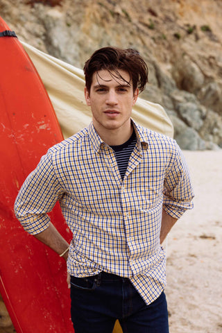 southern tide male model in california