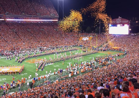 Clemson College Football Game