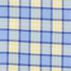 Barnacle Check Intercoastal Sport Shirt - Sunshine Color Swatch Image