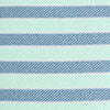 Bass Creek Stripe Performance Polo - Ash Blue Color Swatch Image