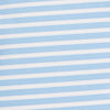 Bimini brrr® Striped Performance Polo Shirt - Hurricane Blue Color Swatch Image