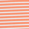 Bimini brrr® Striped Performance Polo Shirt - Mango Color Swatch Image