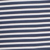 Bimini Striped brrr® Performance Polo Shirt - True Navy Color Swatch Image