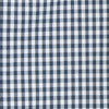 Boys Gingham Intercoastal Performance Short Sleeve Button Down Shirt - True Navy Color Swatch Image