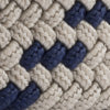 Braided Web Belt - Sandstone Khaki Color Swatch Image