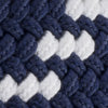 Braided Web Belt - True Navy Color Swatch Image