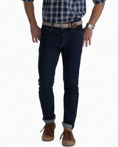man wearing mens denim jeans