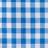 Classic Gingham Button Down Shirt - Cobalt Blue Color Swatch Image