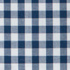 Classic Gingham Button Down Shirt - Yacht Blue Color Swatch Image