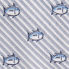 Cordes Skipjack Tie - Sail Blue Color Swatch Image