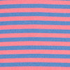 Micro-Striped Driver Performance Polo Shirt - Pink Coral Color Swatch Image