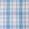 Duneside Plaid Intercoastal Performance Shirt - Colony Blue Color Swatch Image