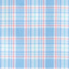 Duneside Plaid Intercoastal Performance Shirt - Ocean Channel Color Swatch Image