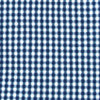 Auburn Tigers Gingham Button Down Shirt - Yacht Blue Color Swatch Image