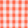 Clemson Tigers Gingham Button Down Shirt - Endzone Orange Color Swatch Image